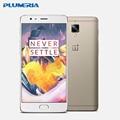 Оригинал Oneplus 3 T A3010 Один плюс 3 Т Мобильный Телефон Dual SIM Snapdragon 821 Отпечатков Пальцев NFC 6 Г ОЗУ 64/128 Г ROM 16MP Android 6.0