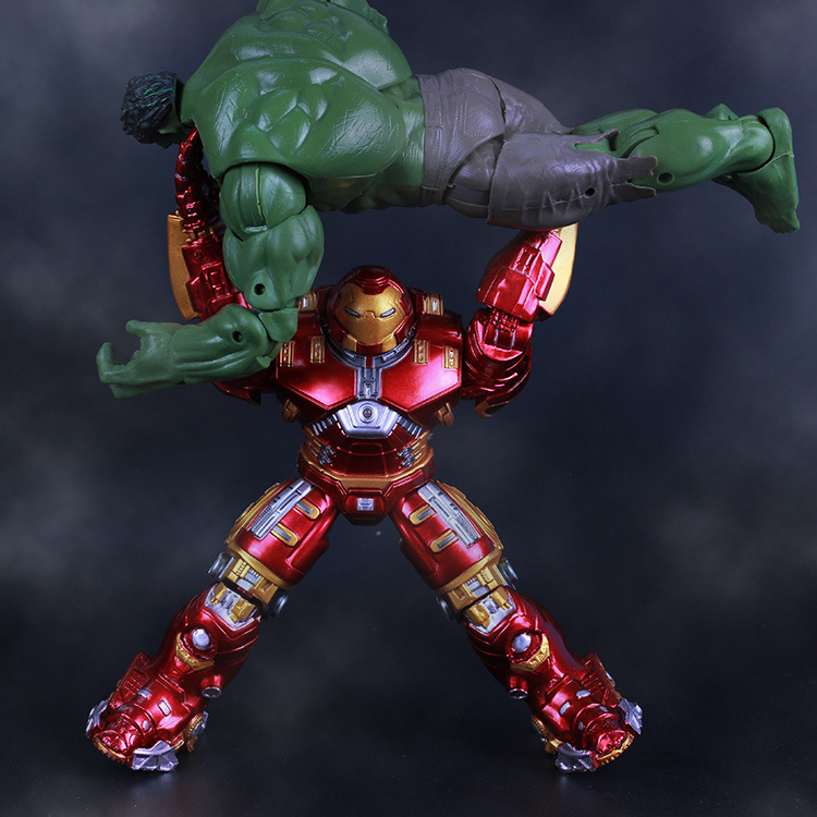 """7/"""" Action Figure Marvel Avengers 2 Age of Ultron IRON MAN HULK BUSTER Toy Gift"""