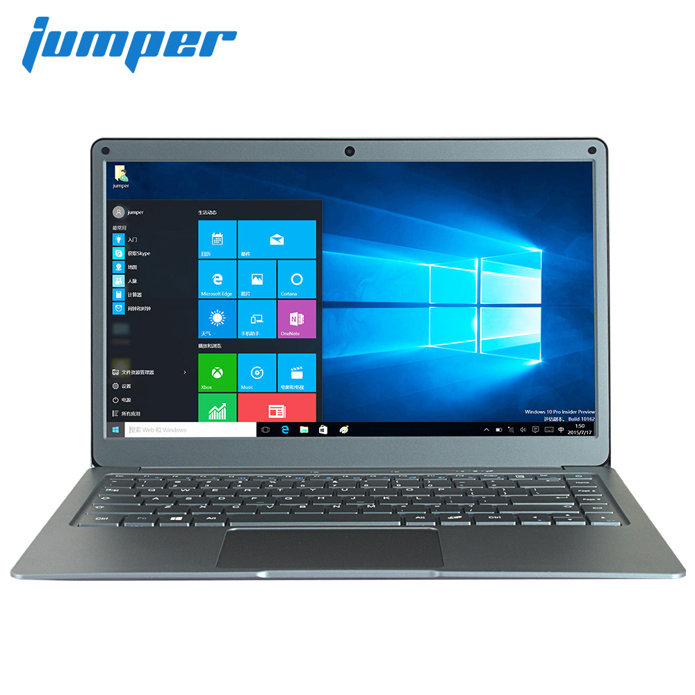 Jumper EZbook X3 portable 13.3 pouces IPS affichage ordinateur portable Intel Apollo Lac N3350 6 GB 64 GB mem 2.4G /5G WiFi avec M.2 cd-r sata slot