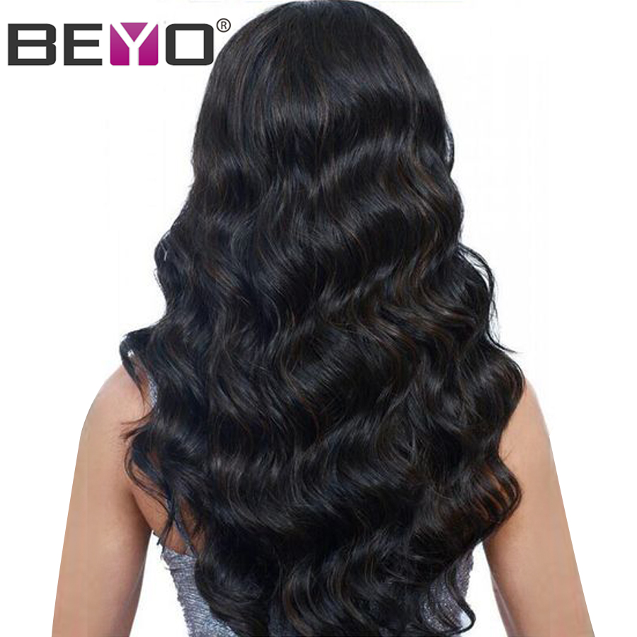 13X4 Lace Front Human Hair Wigs For Black Women Body Wave Lace Wig With Baby Hair
