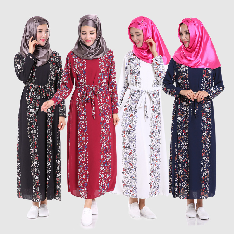 Image Result For Model Gamis Kombinasi Batik Polos
