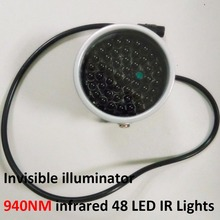 Invisible illuminator 940NM infrared 60 Degree 48 LED IR Lights for CCTV Security 940nm IR Camera
