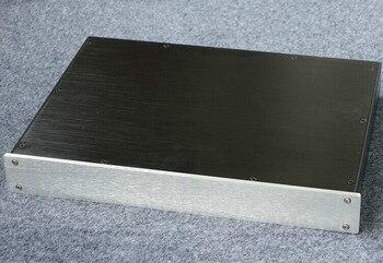 BZ4305 preamplificador completo de aluminio DAC chasis decodificador/carcasa de amplificador/caja DIY (430*55*306mm)