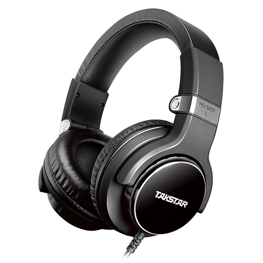 Nieuwste Originele Takstar HD5800 MFi Professionele Monitor Hoofdtelefoon met Microfoon Dynamische Studio Muziek Headset Noise Cancelling-in Hoofdtelefoon/Headset van Consumentenelektronica op  Groep 1