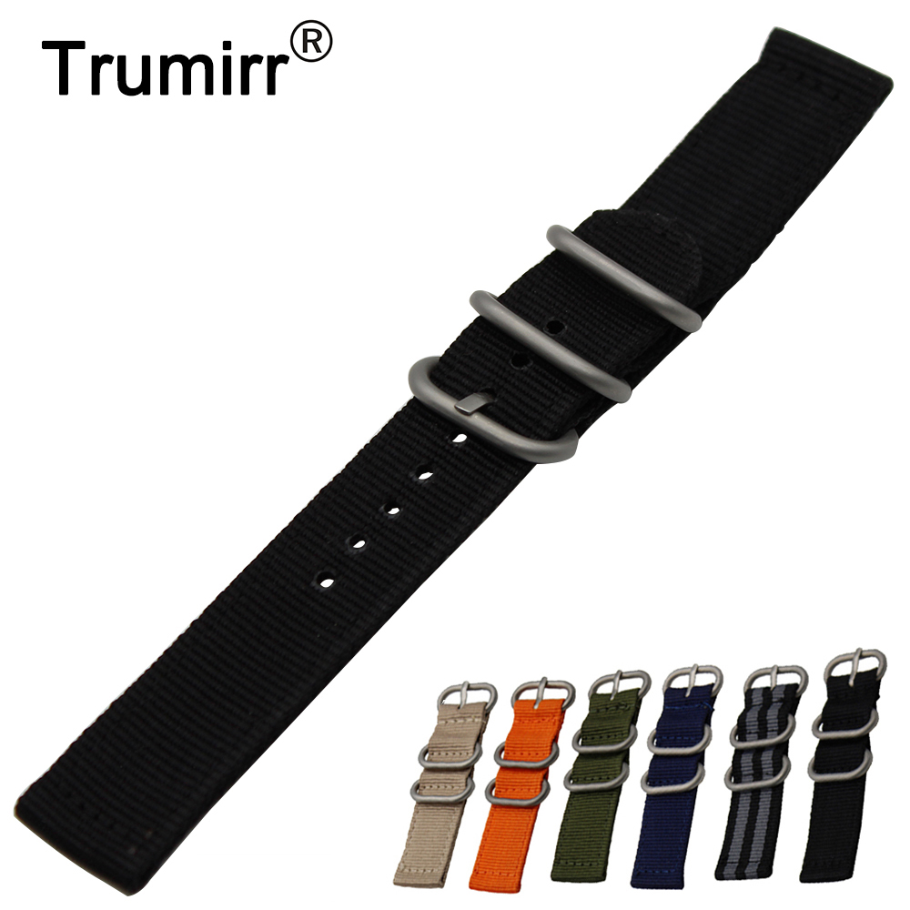 18mm Nylon Watchband for Huawei Watch / Fit Honor S1 Zulu Strap Fabric Band Replacement Wrist Belt Bracelet Black Gray Brown 18mm genuine leather watchband tool for huawei watch women s smartwatch band wrist strap plain grain belt bracelet black brown