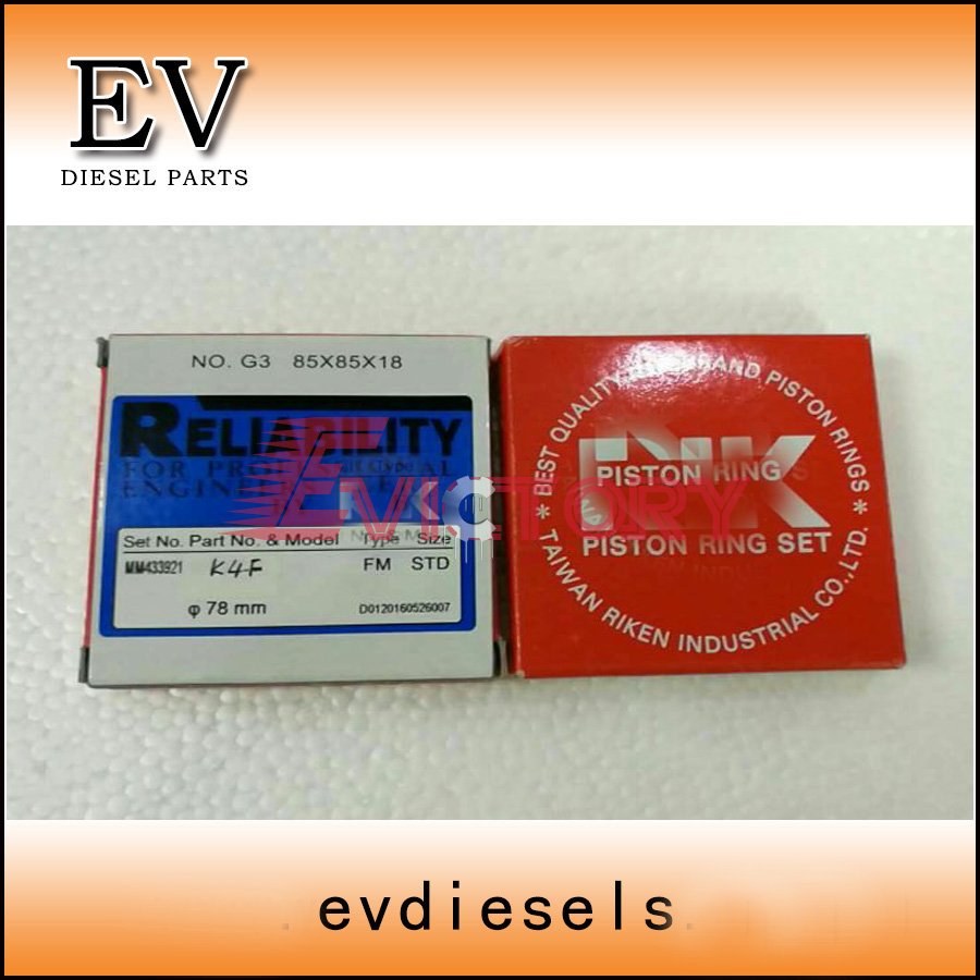 US $660 0  For kubota excavator engine rebuild V4000 piston and piston ring  set-in Crankshafts & Parts from Automobiles & Motorcycles on