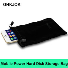 Original 2.5 HDD Bag Hard Disk Case Zipper Pouch External Hard Drive Disk Protec