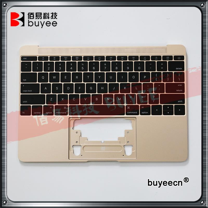 Genuine 12 A1534 Palm Rest 2015 Replacement For Macbook Air Retina A1534 Palmrest Top Case Topcase US Keyboard With Backlight original used a1534 12 palm rest 2016 year for macbook air retina grey a1534 palmrest top case topcase us keyboard replacement