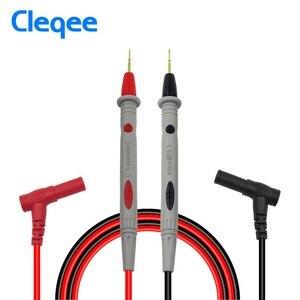 Image 3 - Cleqeeマルチメータプローブプローブ交換可能な針テストリードキットデジタルマルチメータ用ケーブルのための隙間