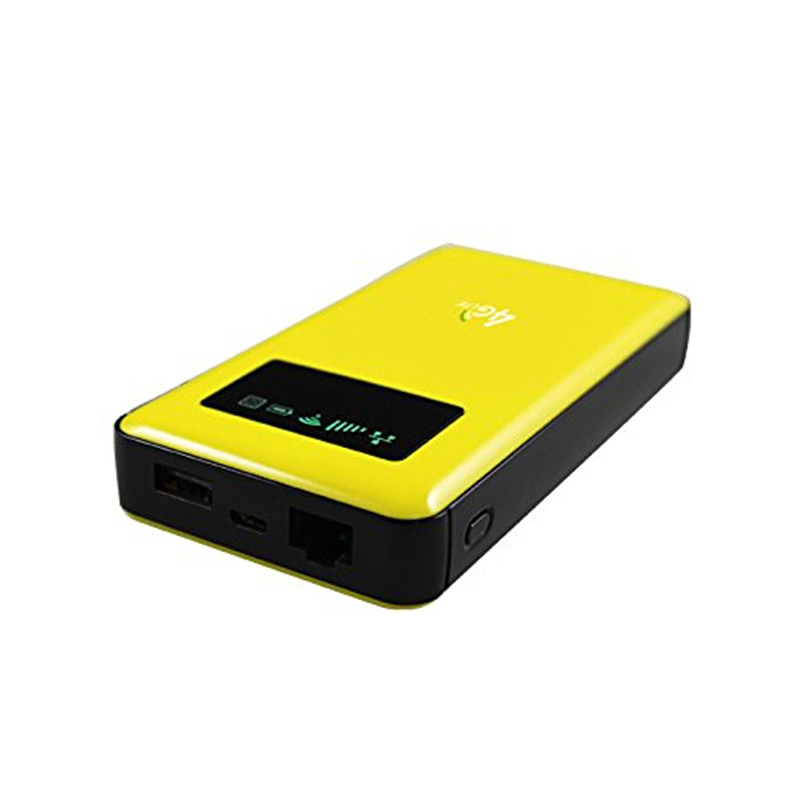 KuWFi 4G LTE Wifi Router 6000mAh Power Bank 3G/4G WIFI Router Wireless AP CPE With RJ45/Sim Card Slot&AP function