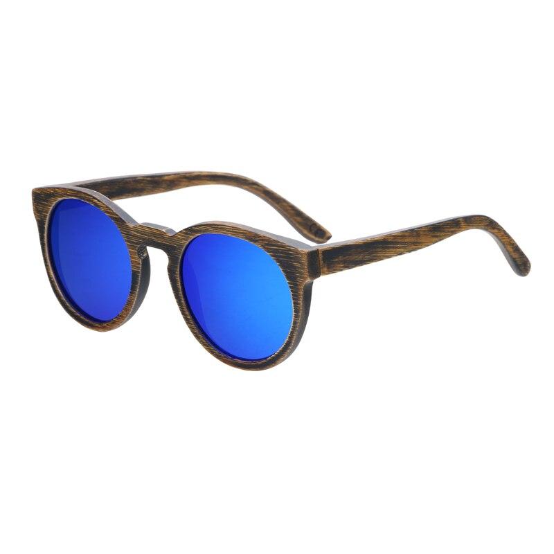 Berwer στρογγυλό πλαίσιο Bamboo γυαλιά - Αξεσουάρ ένδυσης - Φωτογραφία 3