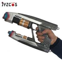 JYZCOS Adult Star Lord Gun Weapon Halloween Avengers Infinity War Peter Quill Superhero Cosplay Props