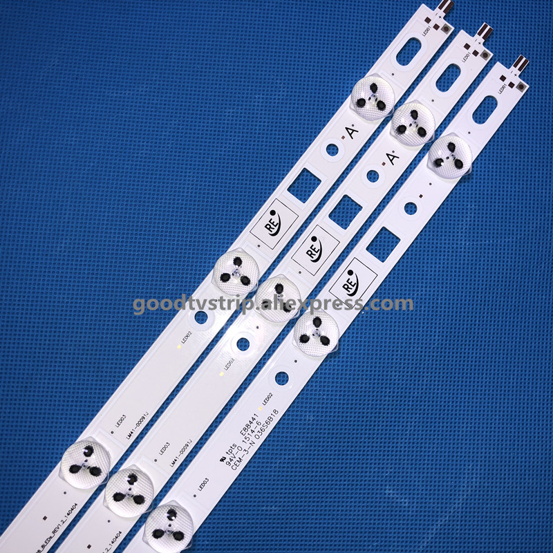3 pcs x Tira Retroiluminação LED para So ny 32