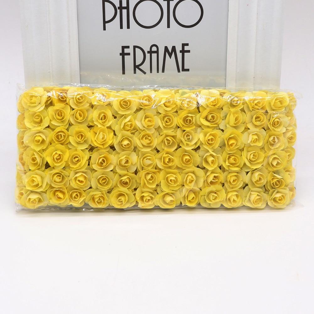 144pcs-1-5cm-Mini-Artificial-Mini-Paper-Rose-Bouquet-DIY-Wreath-Scrapbook-Wedding-Ornament-Artificial-Rose(13)