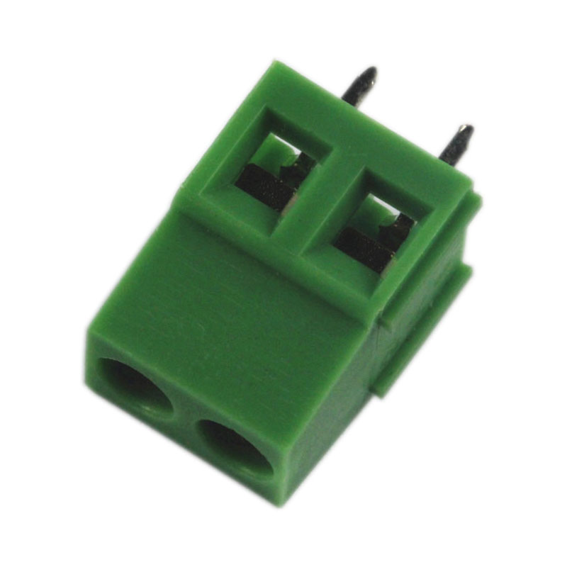 Free Shipping 1Set 80pcs KF128-2P 2-Pin Plug-in Terminal Block Connector 5.08mm Pitch PCB Mount Contact Materials