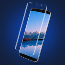 S6 Edge Plus S7 Edge S8 Premium Protective HD Film Clear Screen Guard Screen Protector for Samsung Galaxy S8 Plus Full Cover(China)