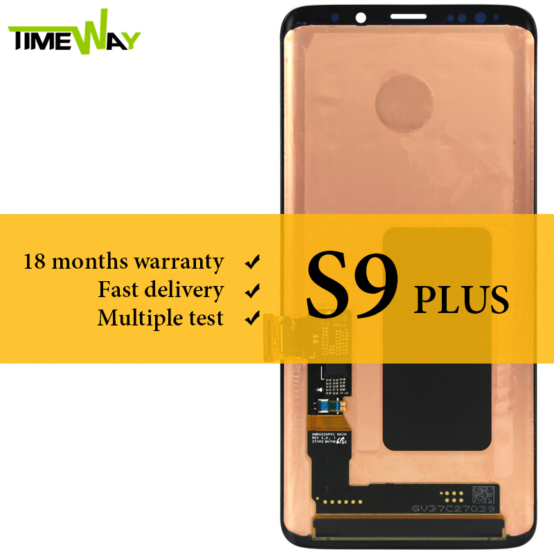 Grade LCD For Samsung S9 Plus LCD Dispaly With Touch Screen Assembly For Samsung S9 Plus G965 G965F Screen Super AMOLED