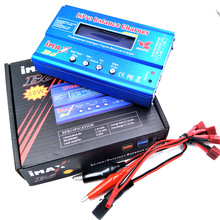 IMAX B6 RC Lipo NiMh Battery Digital Balance Charger dengan T Plug atau Tamiya Connector Calbe