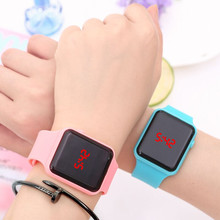 Silicone LED Digital Men Watch Fashion Ladies Outdoor Watch Women's Mens colorful Sports WristWatches Relogios Masculino TEMPTER