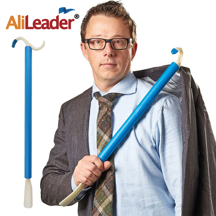 Alileader Dressed Independent Donning Aid For Limited Reach Mobility Push Pull Hook or Grab Clothing