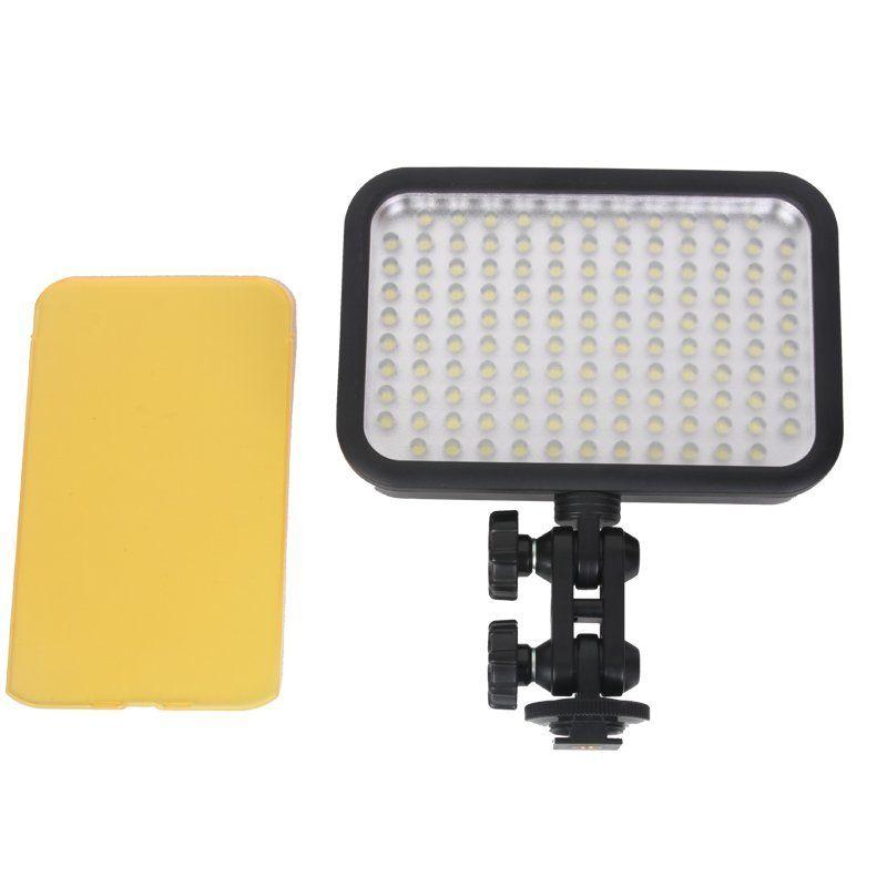 Livraison gratuite Godox LED 126 appareil Photo LED lumières pour appareil Photo numérique caméscope DV mariage vidéographie Photo vidéo prise de vue