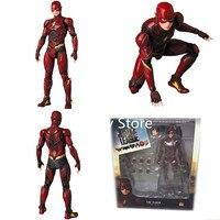 DC Super Hero Justice League The Flash MAF058 Figure PVC Action Figure Collectible Model Toy 16CM