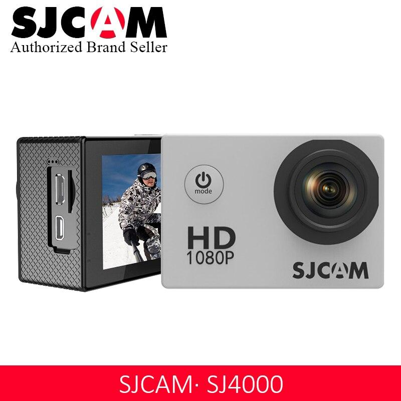 D'origine SJCAM SJ4000 De Base D'action Caméra Étanche 1080 P Casque Caméra HD 2.0