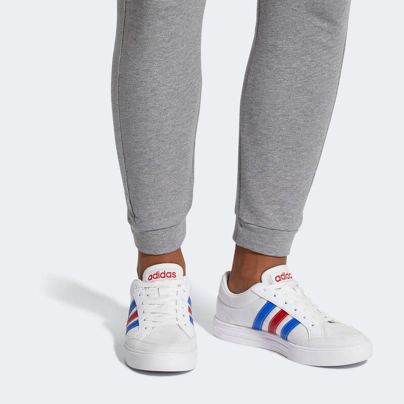 38a877ceb36df Adidas DB0086 VS SET Hombre Zapatillas tenis tela Blanco Tendencia verano  2018