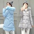 Материнство зимнее пальто вниз хлопка проложенный пуховик для беременных женщин длинный отрезок верхняя одежда пальто с капюшоном одежда беременность одежда