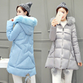 maternity winter coat down cotton padded down jacket for pregnant women long section outerwear coat hooded pregnancy clothing