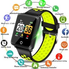 2019 Новинка BANGWEI Брендовые Часы для мужчин и женщин водонепроницаемые спортивные пульсометр функции кровяного давления фитнес-трекер Smartwatch