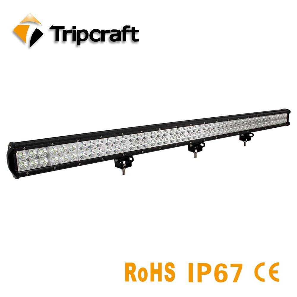 TRIPCRAFT 44 288 Вт светодиодный свет работы бар для auto Off Road 4WD 4x4 грузовик ATV внедорожник 4x4 rampe Combo луча 12 В 24 В вождение автомобиля туман лампа