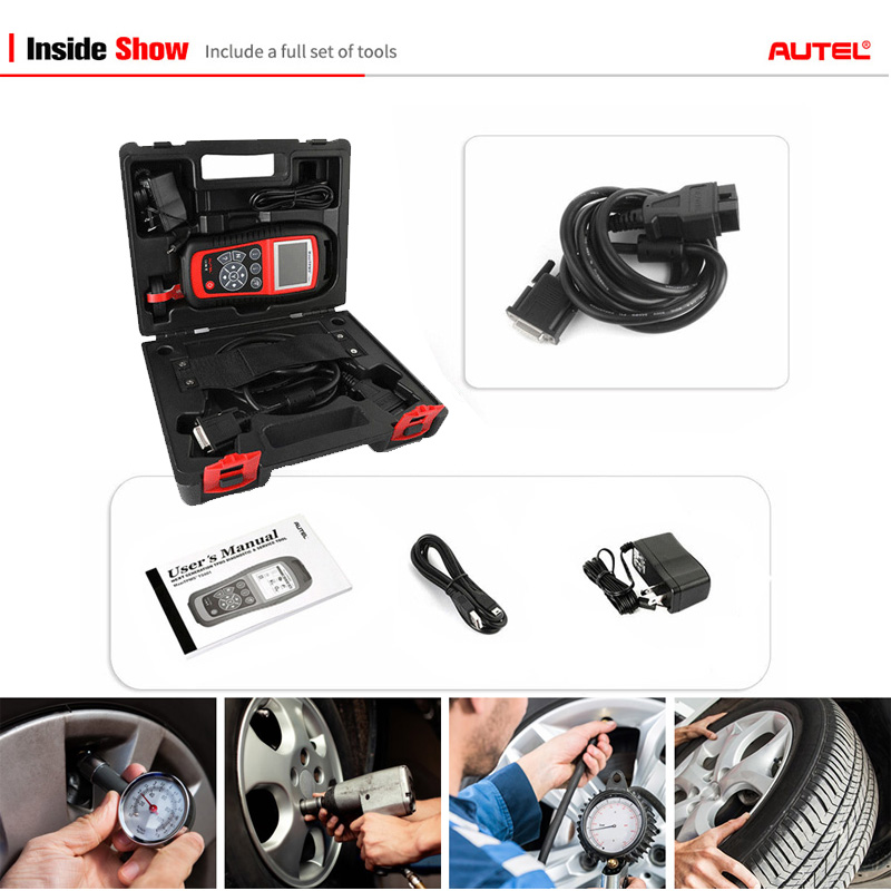 Image 5 - AUTEL MaxiTPMS TS601 Car OBD2 Diagnostic Tool Activate Tire Sensor TPMS Reprogramming Automotive Code Reader Scanner PK TS501