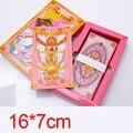 Sakura Card Captor Sakura card captors 55 Esperança Cartões Mágicos Mahou Clow Cartões de anime Cosplay Jogando Cartões de Jogo Prop Frete Grátis