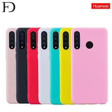 FD New Candy Color Case for Huawei Y6 Y7 Prime 2018 P10 P20 P30 Mate 10 Lite P30 Pro Honor 8X 8C Smart Soft M20 Pro Phone Cases(China)