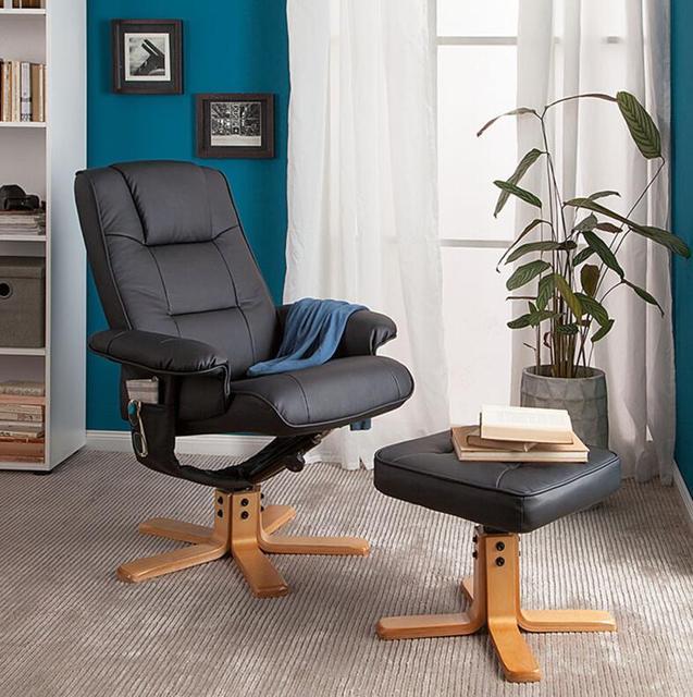 Ocio moderno TV sillón reclinable tumbona sillón asiento giratorio ...