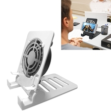 Desk Air Circulator USB Table Portable Fan,Small Personal Smartphones Stand Holder Cell Phone Stand Cooling Cooler Fan Cooling цена и фото