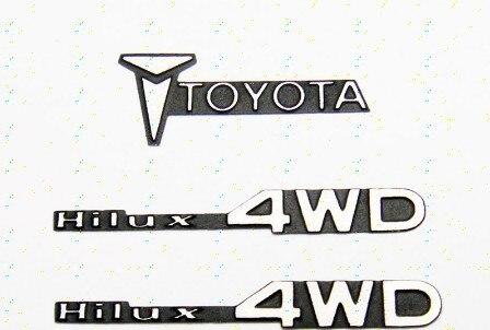 CChand Tamiya TAMIYA 1:10 Hilux Hynix. Boar. RC4WD TF2 metal logo RC car toys(China)