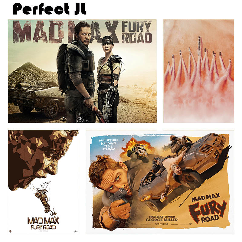 Mad Max Fury Road B Home Furnishing decorative white coated paper Poster Wall Sticker Home Decora