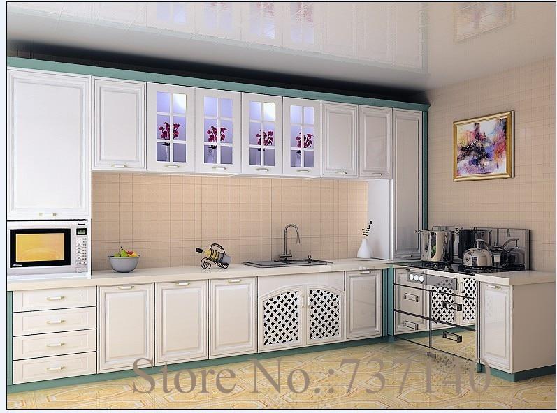 Kitchen Furniture Kitchen Cabinet Flat Pack Mdf Painted