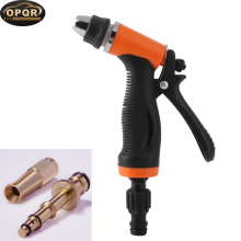 OPQR Pressure washer gun Hand Sprayer cleaner sand blaster car wash Garden Hose Nozzle Spray Metal Watering
