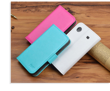 J&R Brand Luxury Leather Flip Case Skin for Samsung Galaxy S i9000 / Galaxy S Plus i9001 Cover Wallet Stand Phone Bag