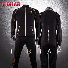 TIBHAR, спортивная одежда для настольного тенниса, новая куртка, тренировочный костюм с брюками, трикотажный свитер для пинг-понга