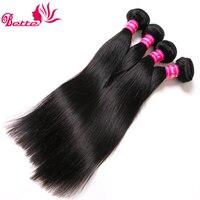 Бетт перуанский волосы 4 Связки прямой человеческих волос много 10-28 дюймов перуанский волосы прямые Связки Расширения Реми естественный цв...