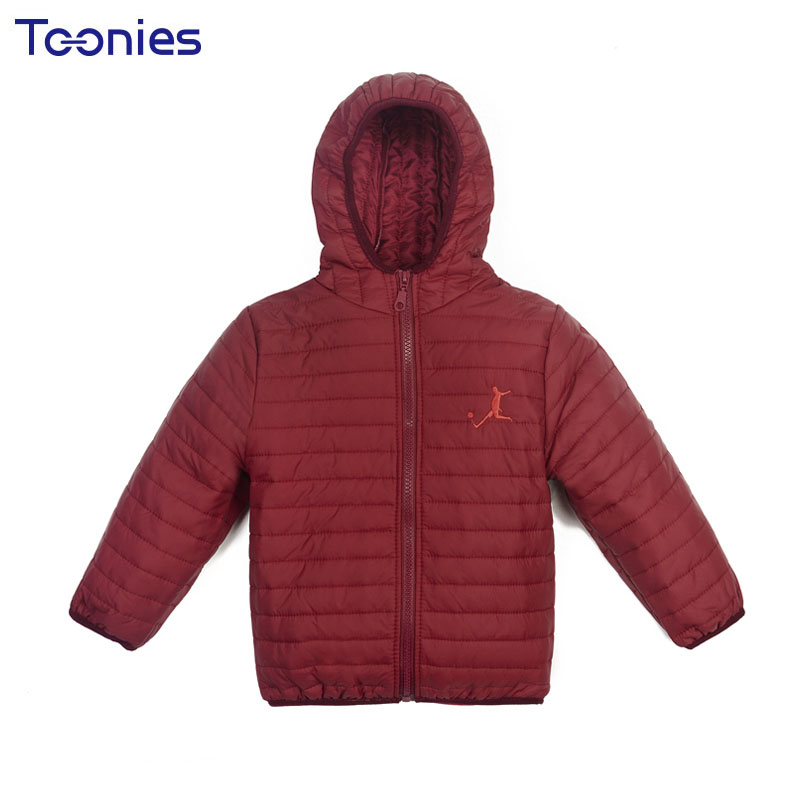 Children Down Jacket Winter Kids Wear Jackets Slim Hooded Warm Coats 2017 New Fashion Solid Clothes Trench Coat for Boy and Girl