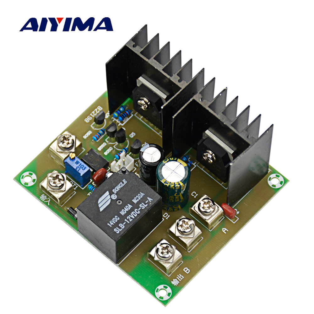 Aiyima 500W Driver Drive Board For DC 12V To AC 220V 230V Inverter Cord Transformer inverter drive board power frequency transformer driver board dc12v to ac220v home inverter drive board