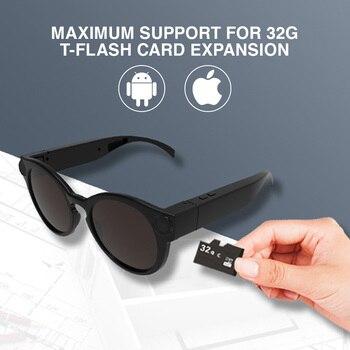 K11 Smart Glasses Wearable Mini Camera Digital Camcorder Video Recorder HD 1080P Portable Fashion Sunglasses for Cycling Sports цена 2017