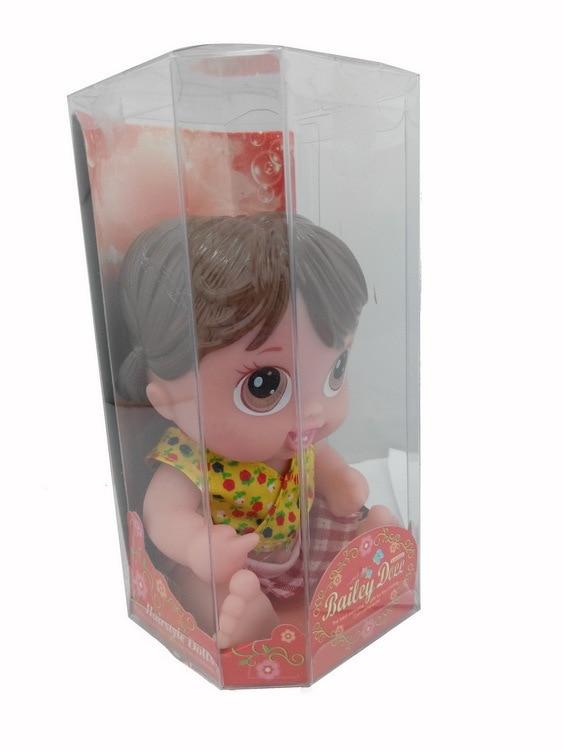 7inches Reborn Baby Doll Flyttbara Lämnar Mjuk Vinyl Silikon Livlig - Dockor och tillbehör - Foto 5