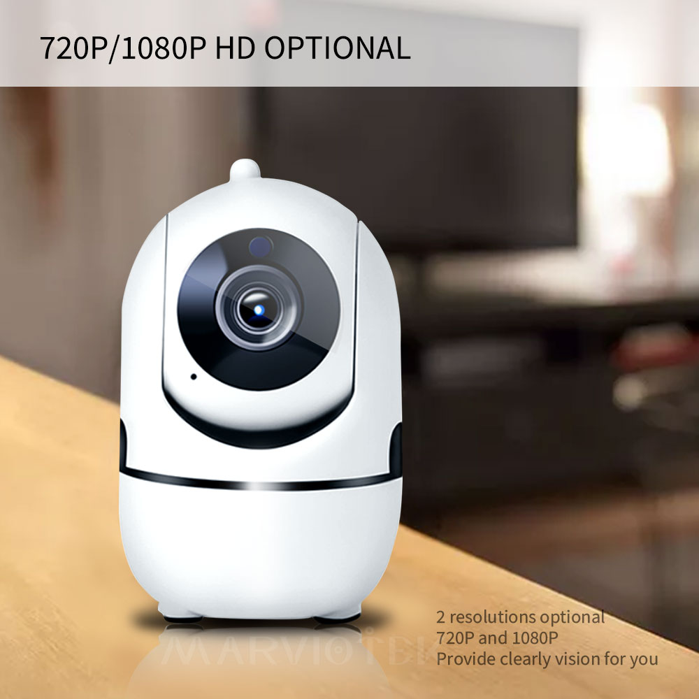 Image 4 - 1080P Full HD Wireless IP Camera Wifi IP CCTV Camera Wifi Mini Network Video Surveillance Auto Tracking Camera IR Night Vision-in Surveillance Cameras from Security & Protection