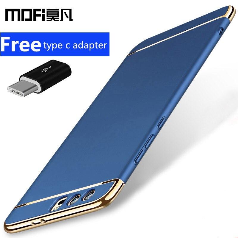 Huawei honor 9 fall abdeckung honor9 back cover hard schutz blau schwarz phone cases ursprüngliche MOFi Huawei honor 9 fall capas 5,15